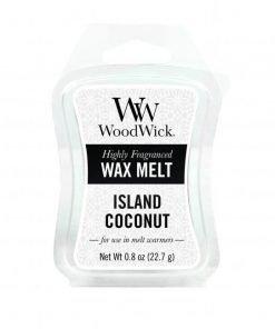 Tjooze WoodWick Waxmelt - Island Coconut