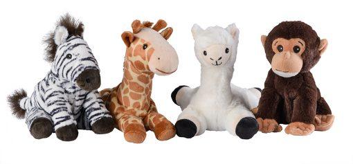 Warmies - Wildlife Animals groep - Tjooze